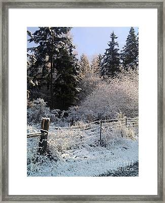 Along The Way Framed Print by Rory Sagner