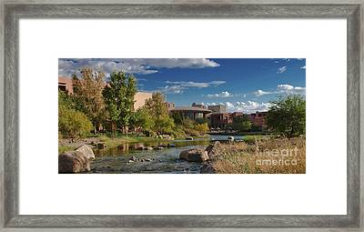 Framed Print featuring the photograph Along The Wild Horse River by Jim Moore