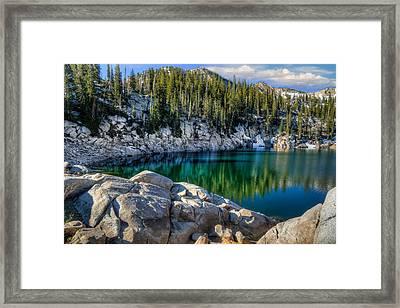 Alpine Lake Framed Print by Utah Images