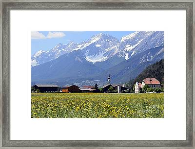 Alpine Mood Framed Print