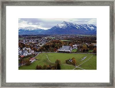 Alpine Vista Framed Print by Anthony Citro