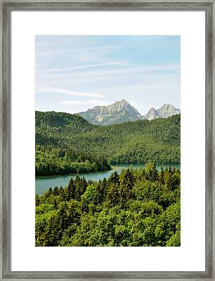 Alps From Bavaria Framed Print by Rick Frost