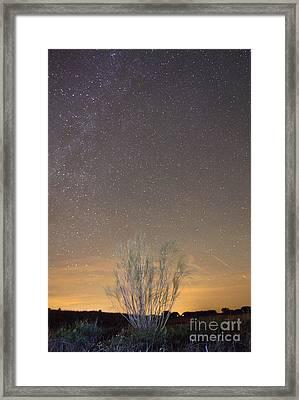Alqueva Dark Sky Reserve Framed Print by Andre Goncalves