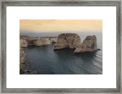 Alrawshe Framed Print by Amr Miqdadi