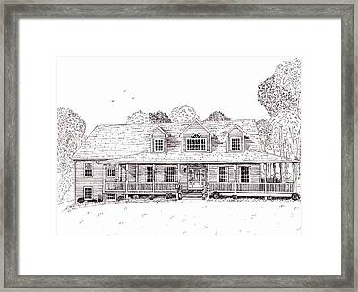 Al's House   Framed Print by Michelle Welles