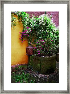 Alsacien Well Framed Print by John Galbo