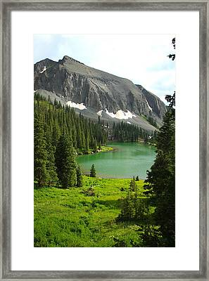 Alta Lake Colorado Framed Print