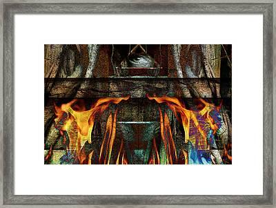 Altar Framed Print by Janet Kearns