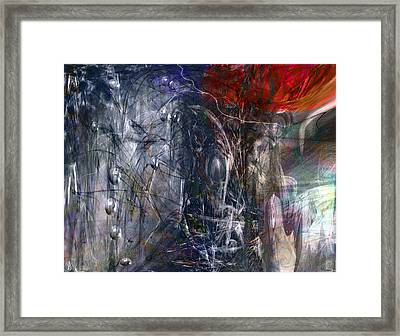 Altered Second Movements Framed Print by Linda Sannuti