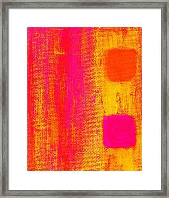 Alternate Feelings Framed Print by James Mancini Heath