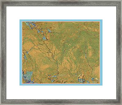 Alternate Landscape 1 Framed Print by Susan Alvaro