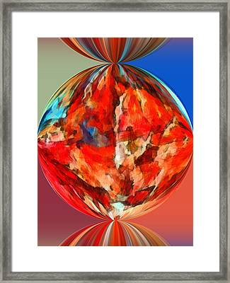 Alternate Realities 3 Framed Print by Angelina Vick