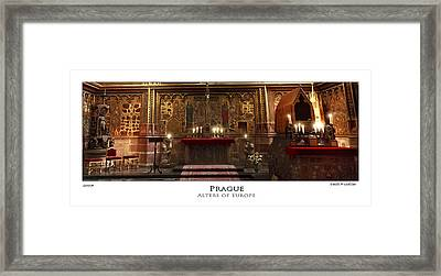 Alters Of Europe Framed Print by Cecil Fuselier
