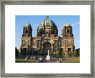 Altes Museum  Framed Print by Marcia Mello