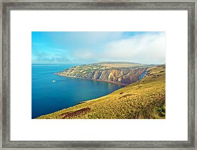 Alum Bay - Isle Of Wight Framed Print
