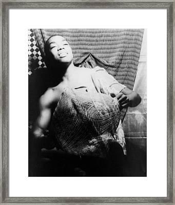 Alvin Ailey 1931-1989, Dancer Framed Print by Everett