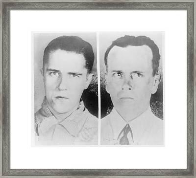Alvin Francis Creepy Karpis Karpowic Framed Print by Everett