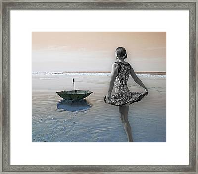 Always Looking To The Light Framed Print