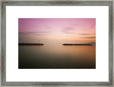 Always So Close Always So Far Away Framed Print