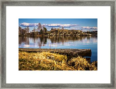 Framed Print featuring the photograph Always Something In A Way by Matti Ollikainen