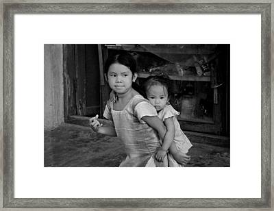 Always Together Framed Print by Valerie Rosen