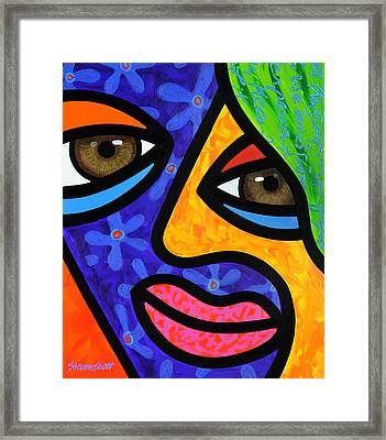 Aly Alee Framed Print by Steven Scott