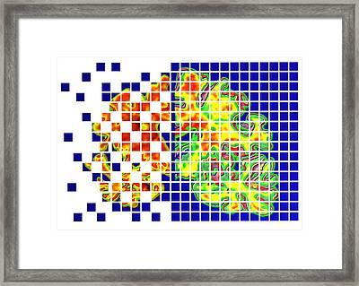 Alzheimer's Disease Framed Print by Pasieka