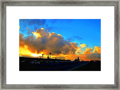 Am 405 South Framed Print