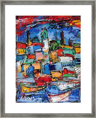 Amalfi 64 Framed Print