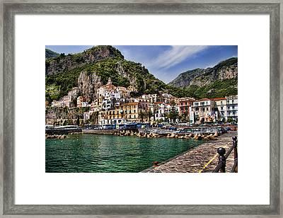 Amalfi Framed Print by David Smith