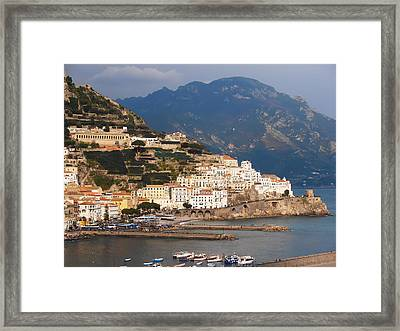 Amalfi Framed Print by Bill Cannon