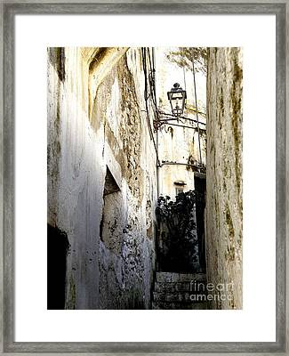 Amalfi Street Framed Print by Tanya  Searcy
