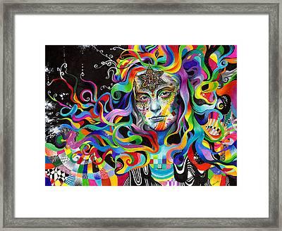 Amalgamation Framed Print by Callie Fink