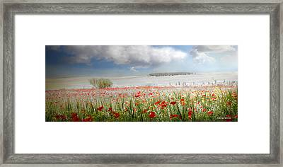 Framed Print featuring the photograph Amanecer En Ajofrin by Alfonso Garcia