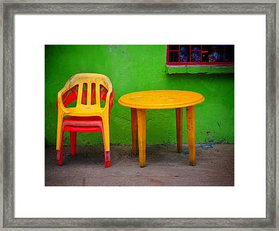 Amarillo Dulce Framed Print by Skip Hunt