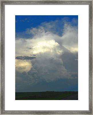 Amazing Cloud Framed Print