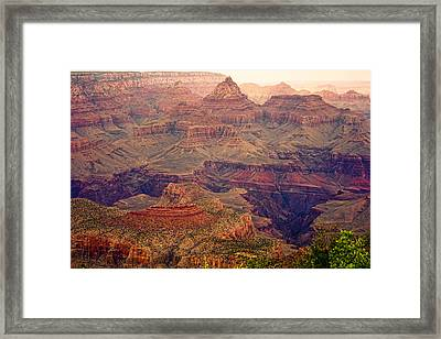 Amazing Colorful Spring Grand Canyon View Framed Print