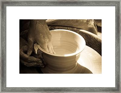 Amazing Hands IIi Framed Print by Emanuel Tanjala