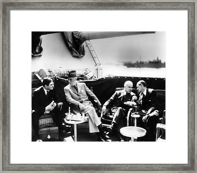 Ambassador To Great Britain John G Framed Print by Everett