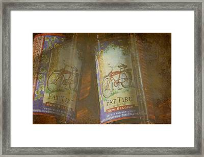 Amber Ale Framed Print by Jan Amiss Photography