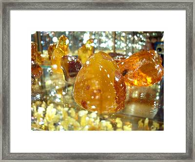 Amber Framed Print by Aleksandr Volkov