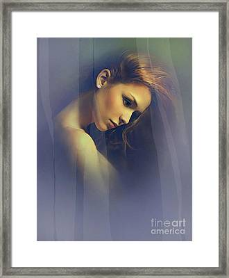 Amber Framed Print by Robert Foster