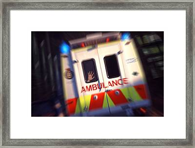 Ambulant Framed Print by Richard Piper