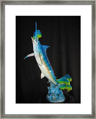 Ambush Framed Print by John Townsend