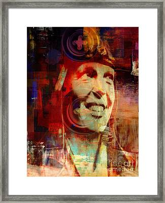 Amelia - Fly With Me Framed Print by Fania Simon