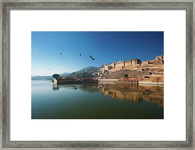 Amer Fort Framed Print