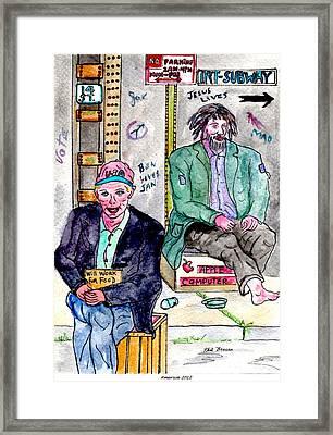 America 2012 Framed Print