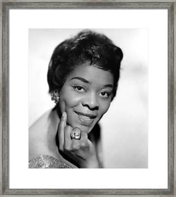 American Blues, Jazz, And R&b Singer Framed Print by Everett