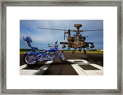 American Choppers 2 Framed Print