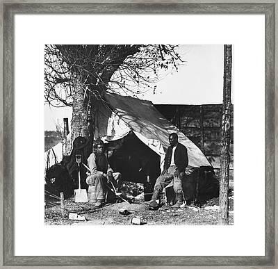 American Civil War, Contraband Framed Print